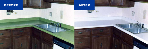 Kitchen remodeling - before and after