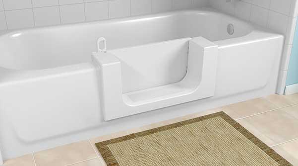 Step tub