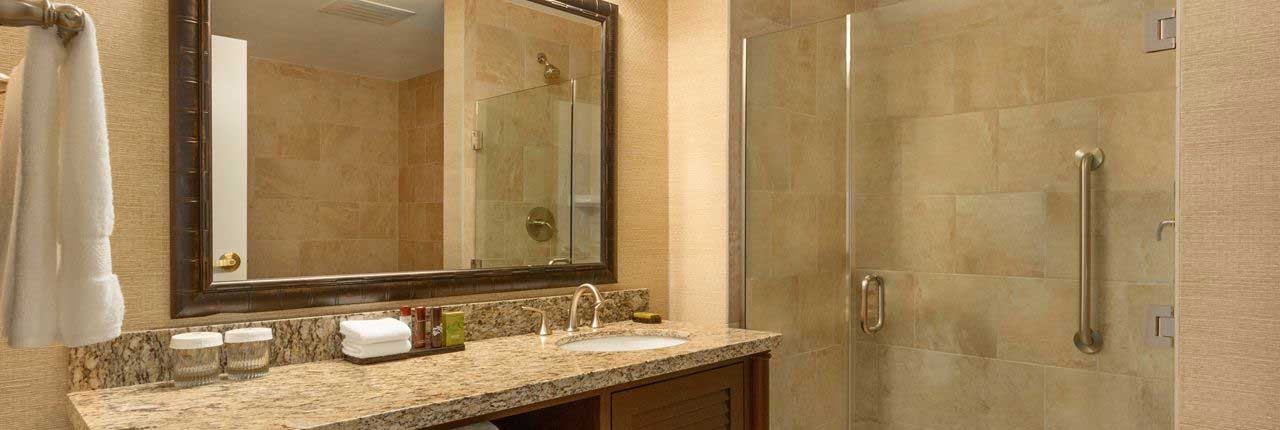 Hotel Bathroom Refinishing