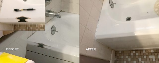 Bathroom Spot Repairs 3
