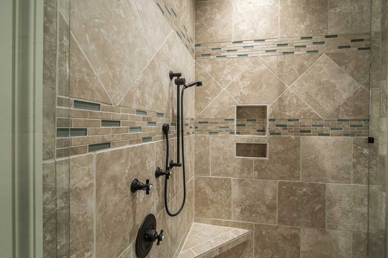 Shower finishing